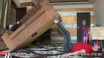 Bodybuilding für Zuhause - Muskeltraining mit Möbeln - NRZ