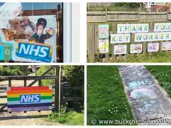 Aylesbury Vale's homemade tributes to NHS heroes and keyworkers - Bucks Herald