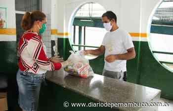 Prefeitura de Abreu e Lima finaliza entrega de kits de alimentação - Diário de Pernambuco