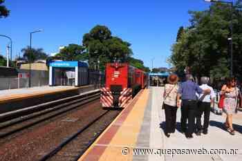 Reabrieron la Estación Carapachay del Ferrocarril Belgrano Norte - Que Pasa Web