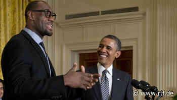 LeBron James zaubert Barack Obama aus dem Hut - RTL Online