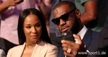 NBA: NFL-Spielerfrau unterstellt LeBron James Ehebruch mit Instagram-Model - SPORT1