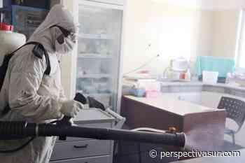 Realizaron tareas de desinfección en los centros de salud Los Eucaliptus y La Florida - Perspectiva Sur