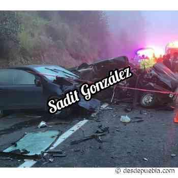 Grave accidente sobre la Teziutlan-Virreyes deja una persona muerta - Puebla