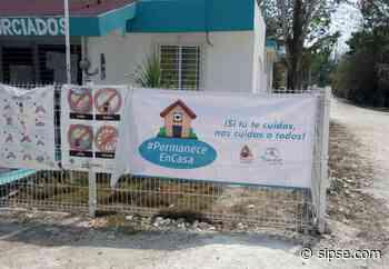 Bacalar: Intensifican concienciación para que los habitantes se queden en casa - sipse.com