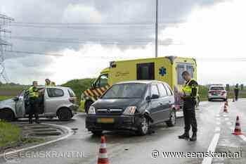 Alleen blikschade bij ongeval op de N363 ter hoogte van Spijk - Eemskrant