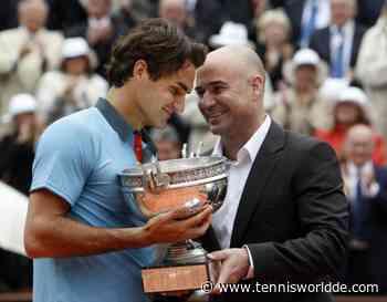 """Andre Agassi:""""Ich glaube nicht,dass ich eine Chance gegen Roger Federer gehabt hätte"""" - Tennis World DE"""