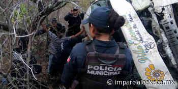 Fatal accidente en carretera a Puerto Escondido, vía Sola de Vega - El Imparcial de Oaxaca