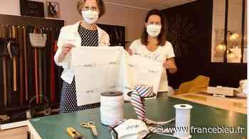 Déconfinement : du sac au masque, elles relancent leur activité à Olivet !! - France Bleu