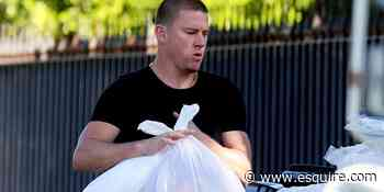Channing Tatum Wore Gold Lamé Pants to Take Out the Trash and Restored My Sense of Wonder - Esquire