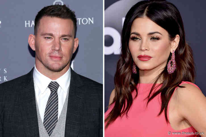 Channing Tatum 'arguing' with ex-wife Jenna Dewan over custody of their daughter after he 'broke lockdown rule - The Sun