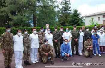 Sanificazioni dell'esercito nelle Rsa di Adro e Capriolo - Brescia Settegiorni