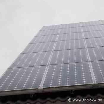 Xanten bezuschusst Photovoltaik-Anlagen in der Stadt - Radio K.W.