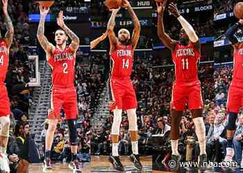 Did You Know That… New Orleans is arguably the NBA's deepest three-point shooting team?