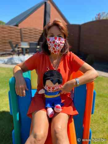 Anna, de pop vanaf nu met mondmasker (Kinrooi) - Het Belang van Limburg