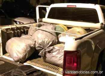 Três pessoas são presas transportando 200kg de maconha em Senhor do Bonfim - Varela Notícias