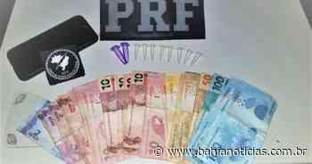 Senhor do Bonfim: Motorista é preso ao dirigir embriagado e com cocaína na cueca - Bahia Noticias - Samuel Celestino
