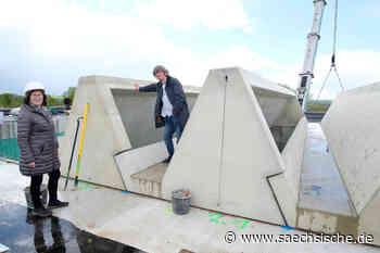 Bau der Oberschule Klipphausen geht voran - Sächsische Zeitung