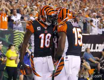 Watch: AJ Green and John Ross' future, plus a look at Tee Higgins' role with the Bengals - Sports Illustrated