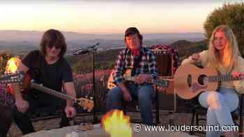 Marshmallows, a golden retriever and a view: John Fogerty raises the bar on lockdown videos - Louder