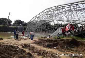 Llegó infraestructura para nuevo puente en Colimes - expreso.ec