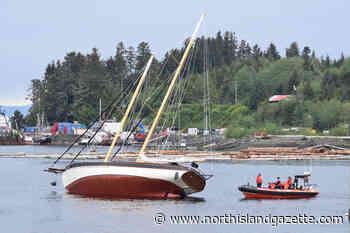 50-foot sailboat runs aground in Port Hardy - North Island Gazette