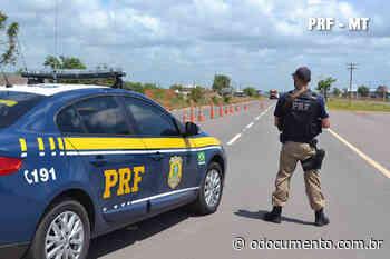 PRF apreende mercadoria sem nota fiscal em Pontes e Lacerda/MT - O Documento