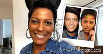 Tamron Hall Compares Herself to Bruno Mars in a Photo - AmoMama