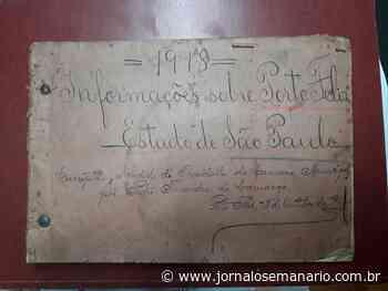 Documento raro doado ao Arquivo Público de Porto Feliz - Jornal O Semanário