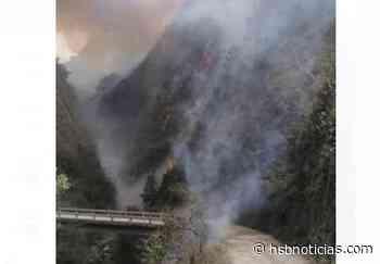 Grave emergencia en veredas de Puente Quetame por incendios [VIDEO]   HSB Noticias - HSB Noticias