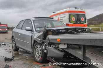 Drei Verletzte nach Unfall auf der B19 zwischen Unterkochen und Oberkochen - Schwäbische Post