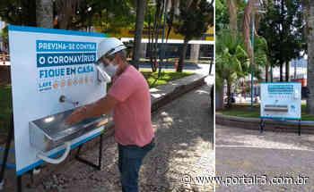 Sabesp instala bebedouro e lavatório para atender quem busca auxílio social em Caraguatatuba - PortalR3
