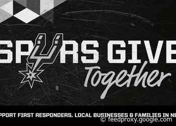 SPURS SPORTS & ENTERTAINMENT ANNOUNCES THE FORMATION OF THE SPURS GIVE TOGETHER FUND