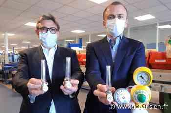 Coronavirus : leurs débitmètres fabriqués à Noisy-le-Sec sauvent des vies tous les jours - Le Parisien