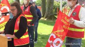 Aulnoye-Aymeries: «masqués, mais pas muselés», le 1er mai célébré - La Voix du Nord
