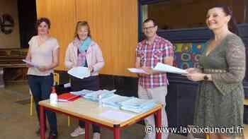Aulnoye-Aymeries : à l'école Joliot-Curie, les parents ont récupéré les cours des enfants - La Voix du Nord