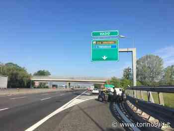 TROFARELLO - Scontro allo svincolo di Vadò: un ferito e uscita chiusa per un'ora - TorinoSud