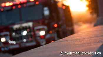 Major fire burns through industrial building in St-Jean-sur-Richelieu - CTV News Montreal