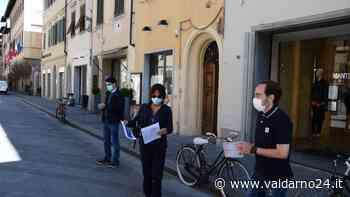 """""""Riapriamo il commercio"""". La manifestazione a San Giovanni Valdarno - Valdarno24"""