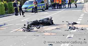 Motorradfahrer bei Unfall in Simmerath-Kesternich schwer verletzt - Aachener Zeitung