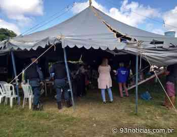 Circo que funcionava irregularmente é fechado em Itaporanga D'Ajuda - 93Notícias