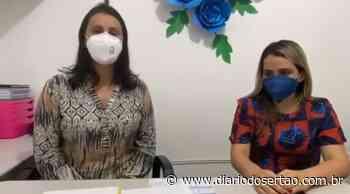 VÍDEO: secretária fala sobre 1º caso de Covid em Itaporanga: 'Ele não tem residência fixa na cidade' - Diário do Sertão