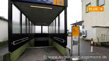 Nahverkehr: Ohne Treppensteigen zum Bahnsteig am Bahnhof Meitingen - Augsburger Allgemeine