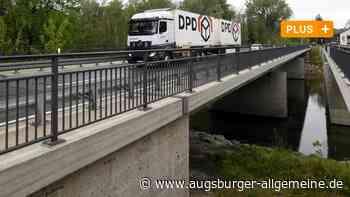 An Brücke zwischen Meitingen und Thierhaupten wird wieder gebaut - Augsburger Allgemeine