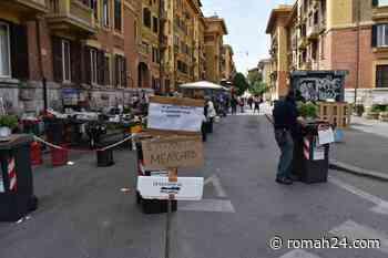 Dopo il lockdown riapre il mercato di via Tito Speri. Queste le immagini - Prati - romah24.com
