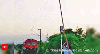 Kochi: Kite flying gives tough time to RPF - Times of India