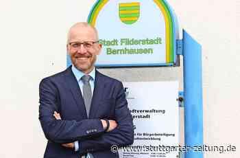 Filderstadt - Vom Azubi bei der Stadt zum Bürgermeister - Stuttgarter Zeitung