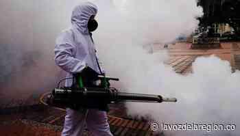Termo-nebulización, nueva tecnología para desinfección en Campoalegre - Noticias