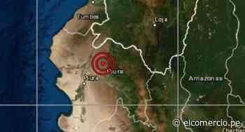 Piura: sismo de magnitud 4,1 se reportó en Chulucanas, señala IGP - El Comercio