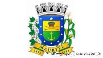 Prefeitura de Mauriti - CE abre nova Seleção - PCI Concursos
